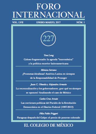 Ver Vol. LVII, 1 (227) Enero-Marzo, 2017