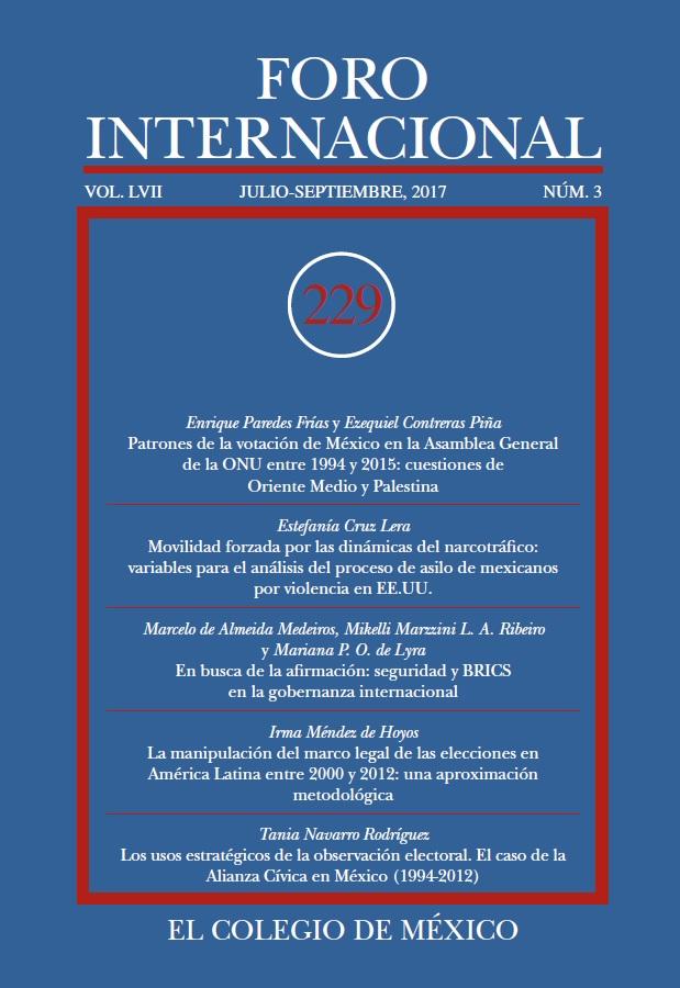 Ver Vol. LVII, 3 (229) Julio-Septiembre, 2017