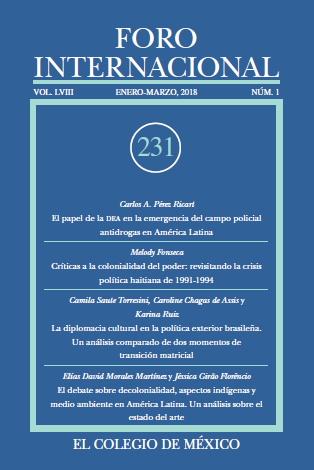 Ver Vol. LVIII, 1 (231) Enero-Marzo, 2018