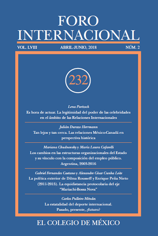 Ver Vol. LVIII, 2 (232) Abril-Junio, 2018