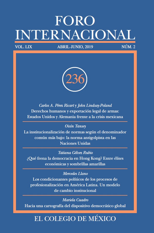 Ver Vol. LIX, 2 (236) Abril-Junio, 2019