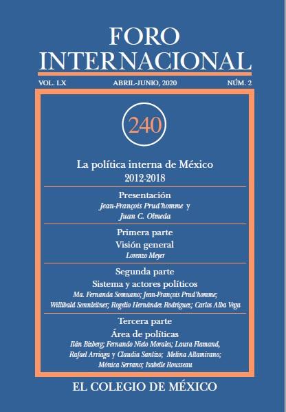 Ver Vol. LX, 2 (240) Abril-Junio, 2020