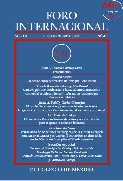 Ver Vol. LX, 3 (241) Julio-Septiembre, 2020