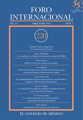 Ver Vol. LV, 2 (220) Abril - Junio, 2015