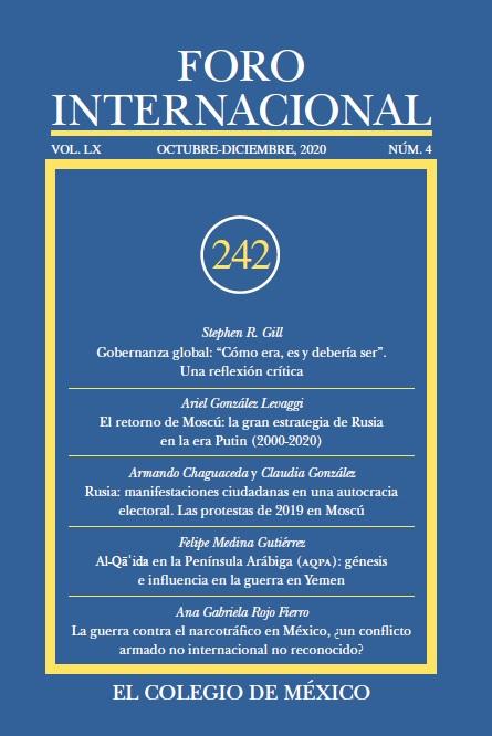 Ver Vol. LX, 4 (242) Octubre-Diciembre, 2020