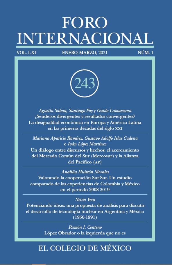 Ver Vol. LXI, 1 (243) Enero - Marzo, 2021